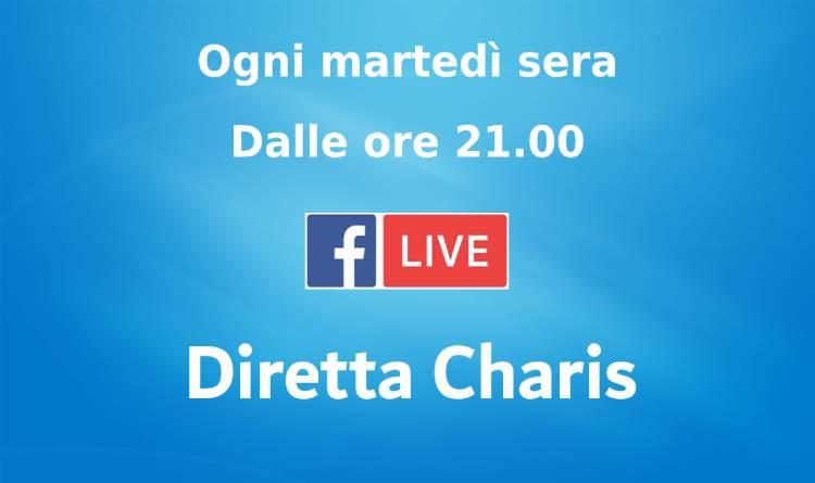 Facebook_dirette Charis martedì
